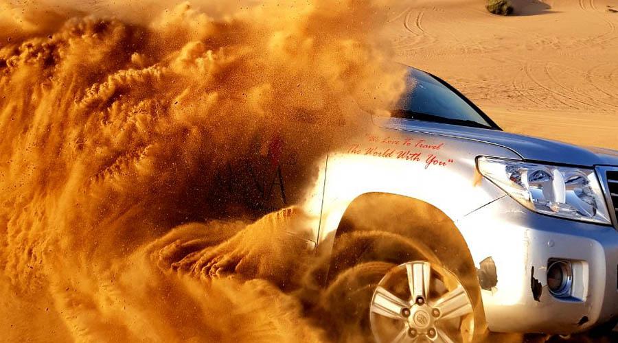 dune bashing in dubai deserts