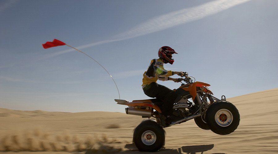 quad biking desert safari dubai