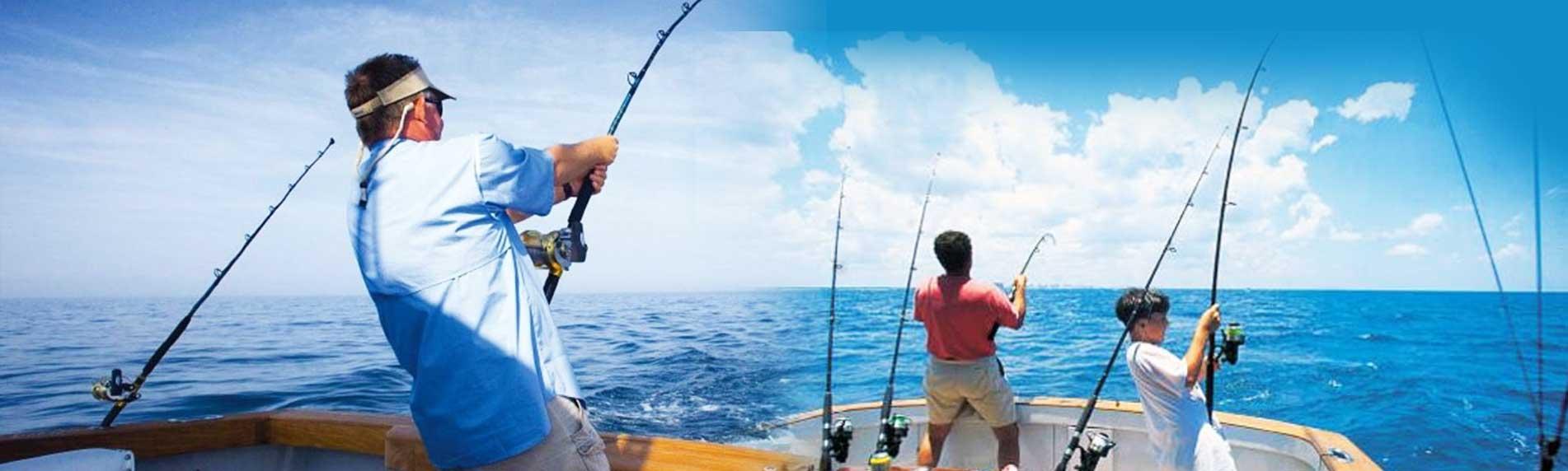deep sea fishing fun