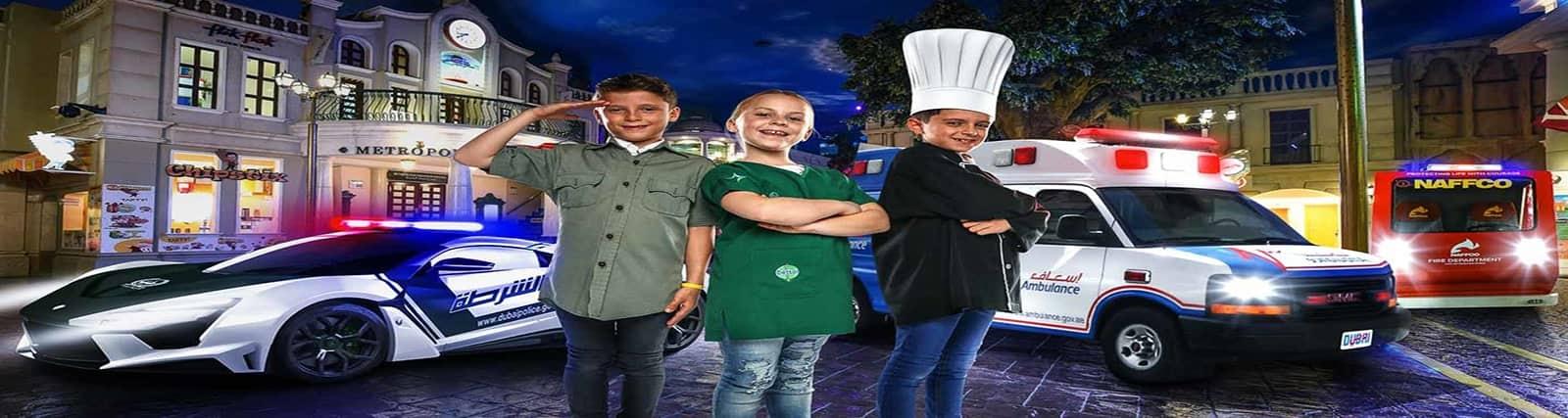 chef in kidzania