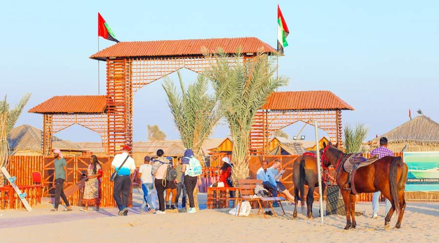 Desert Camp in Duabi