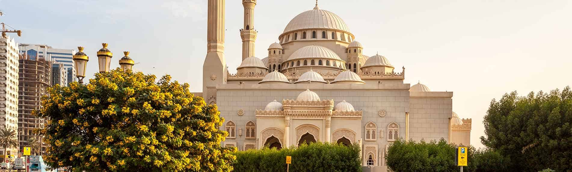 sharjah city from dubai