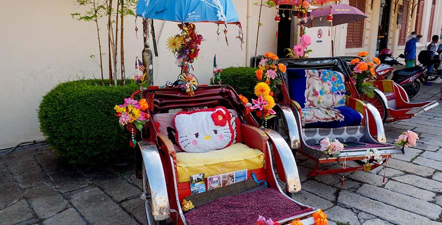 trishaw in penang