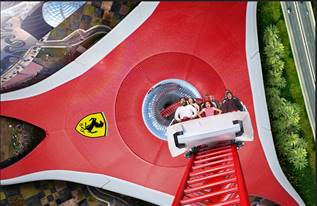 ferrari world abudhabi adventure