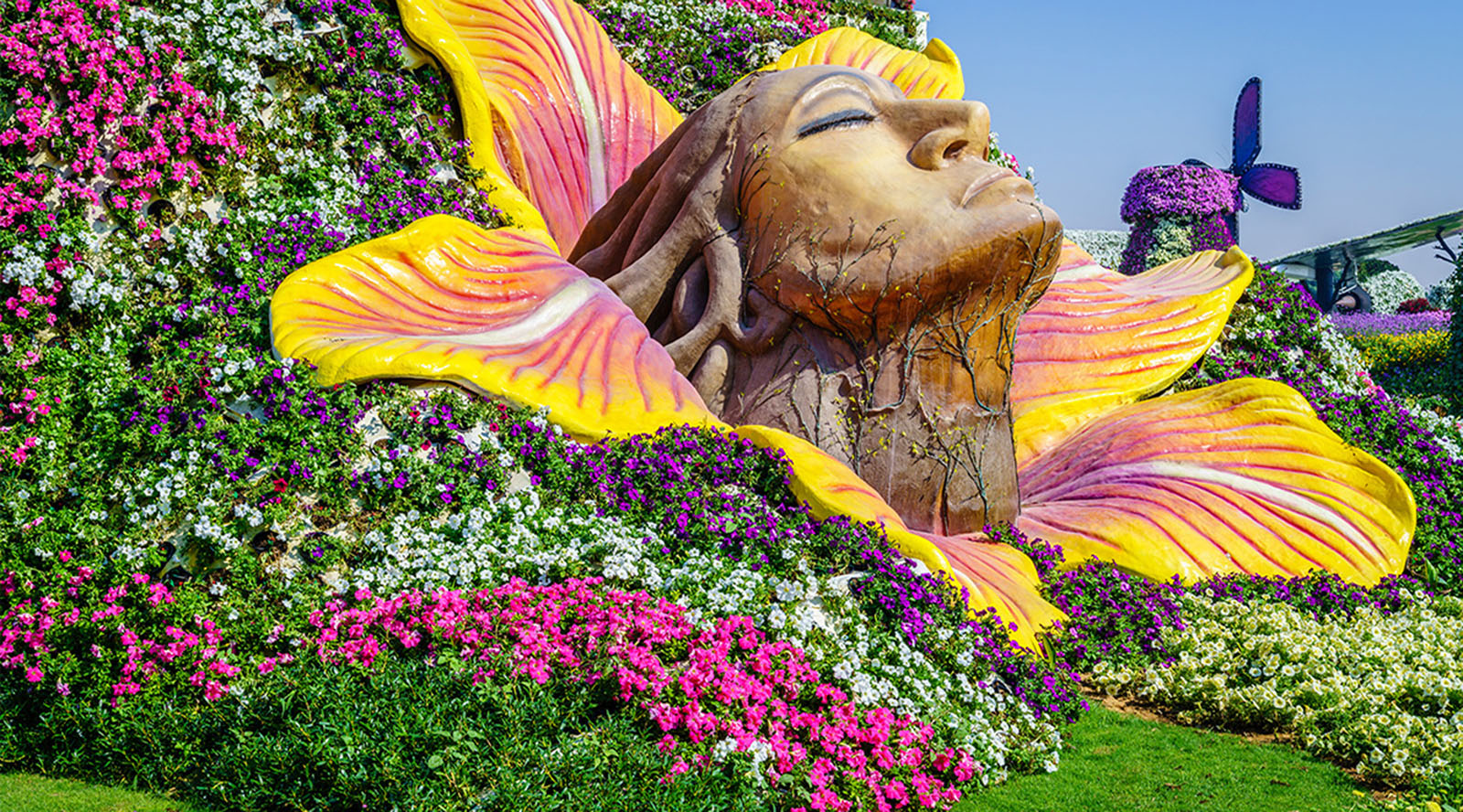 Dubai Miracle Garden Tickets Dubai Tours And Tickets