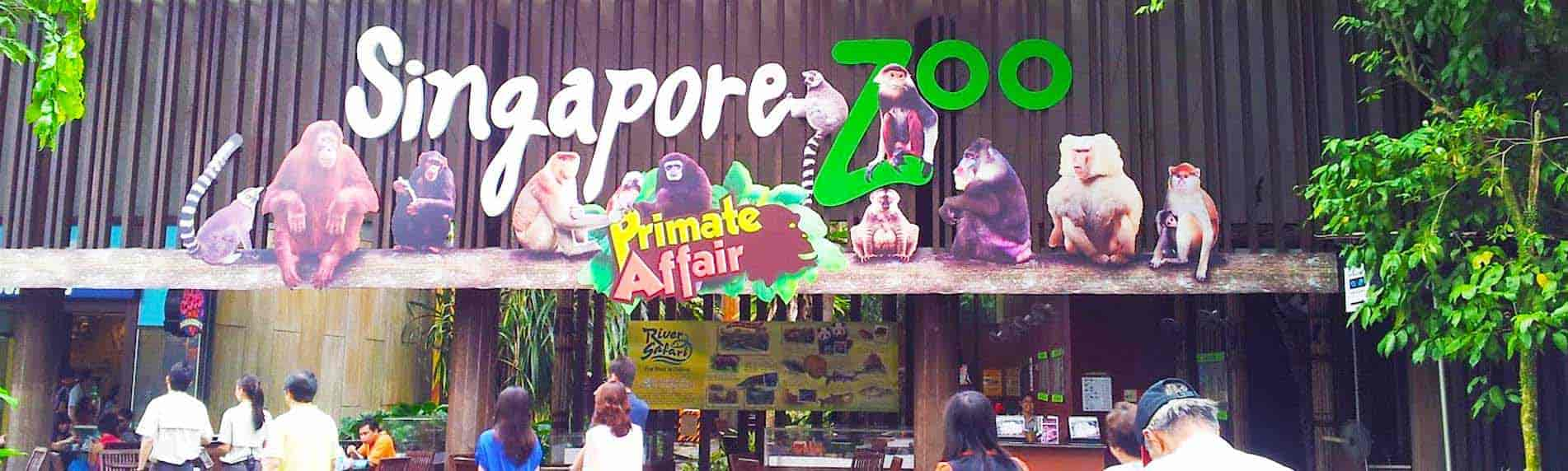 singapore zoo with breakfast