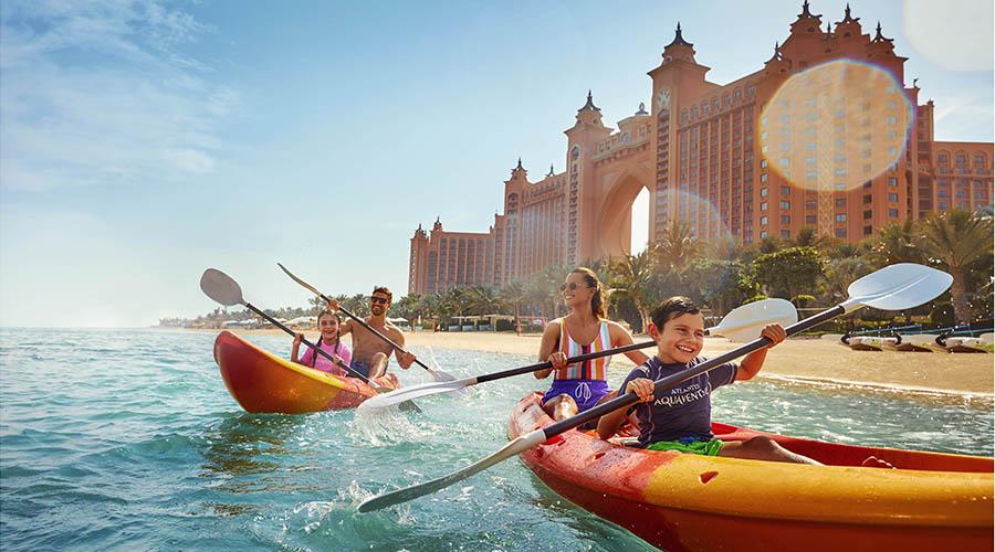 water sports kayaking