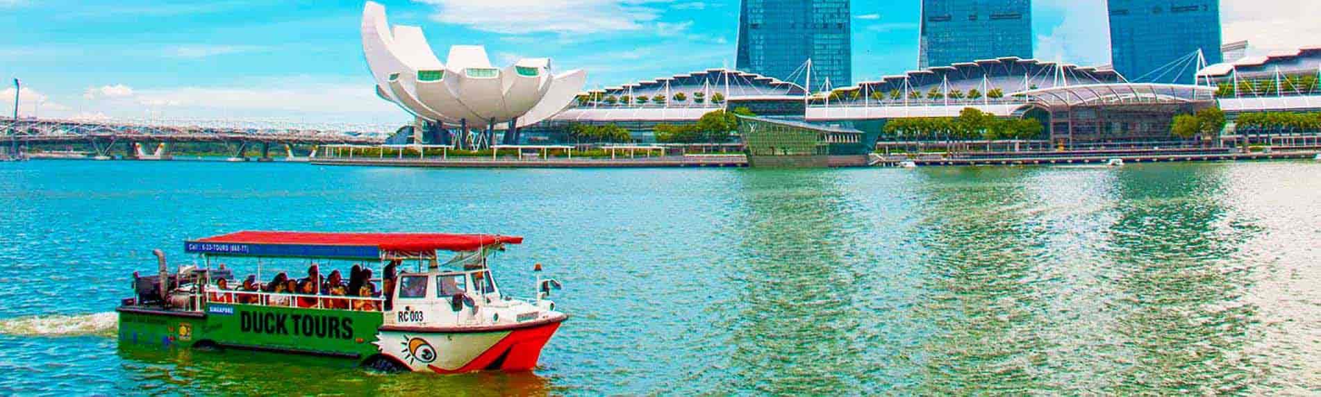 singapore duck tour fun