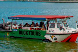 singapore duck tour fun
