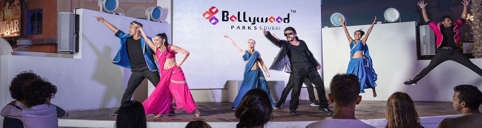 Raj Mahal in Bollywood Parks Dubai