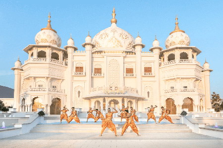 Raj Mahal in Bollywood Parks Dubai