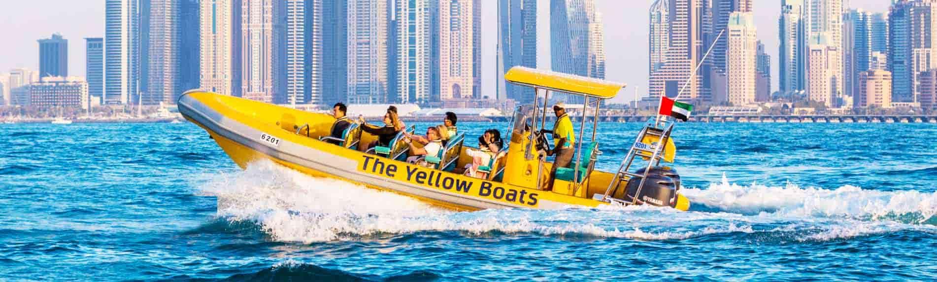 yellow boats abu dhabi