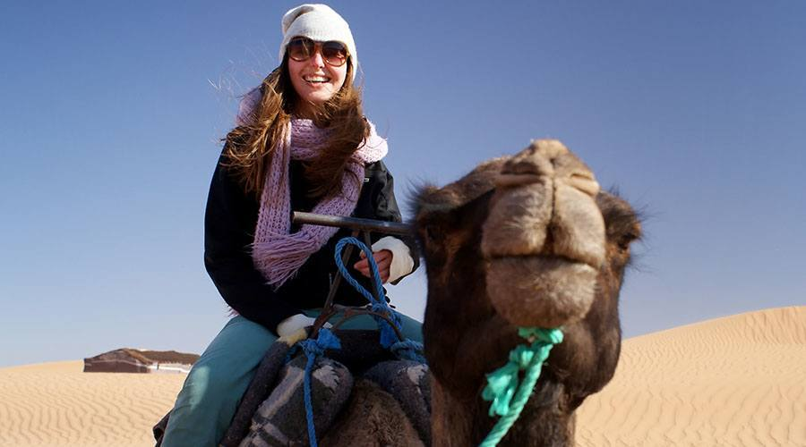 camel riding dubai