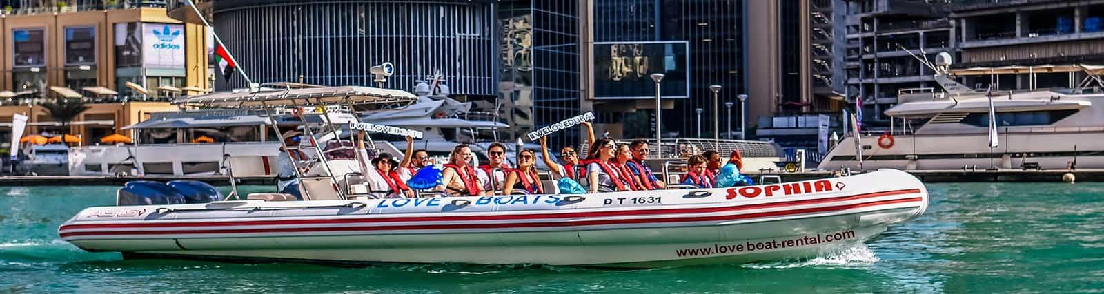 love boat ride couple