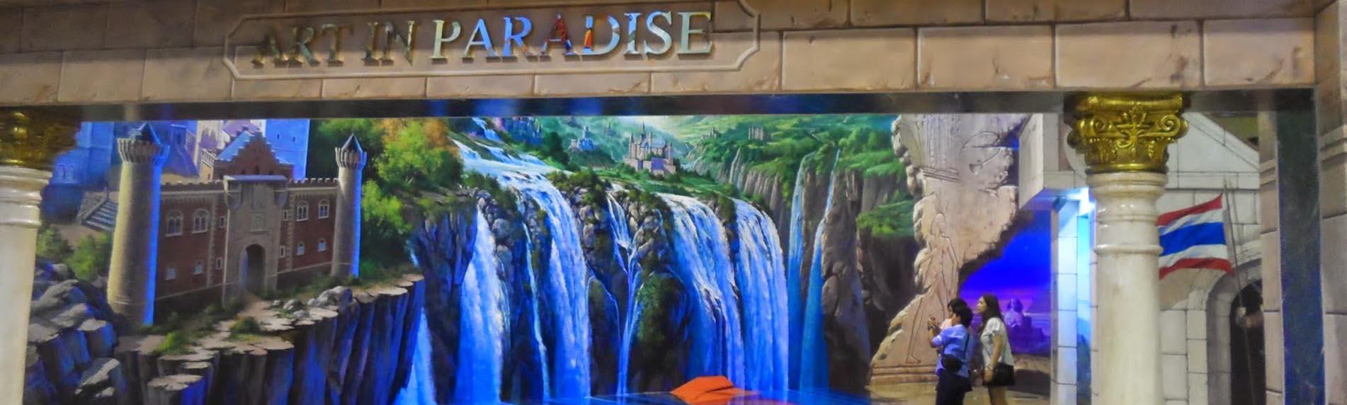 art in paradise fun pattaya
