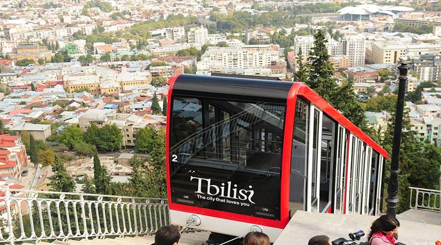 funicular trainway