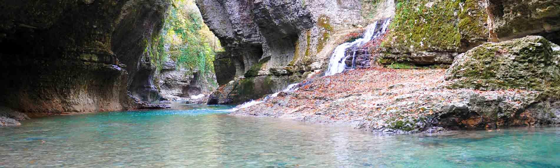 martvili canyon thrill