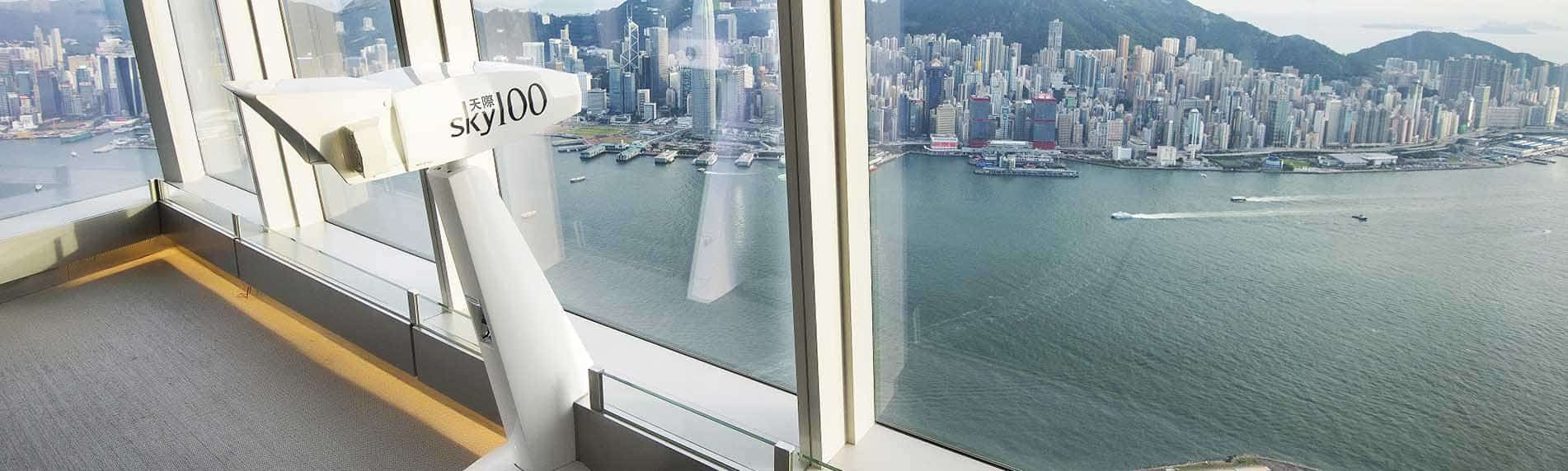 sky100 deck hong kong