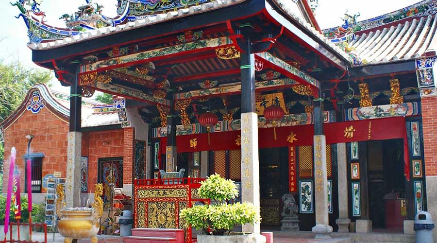 penang island temple