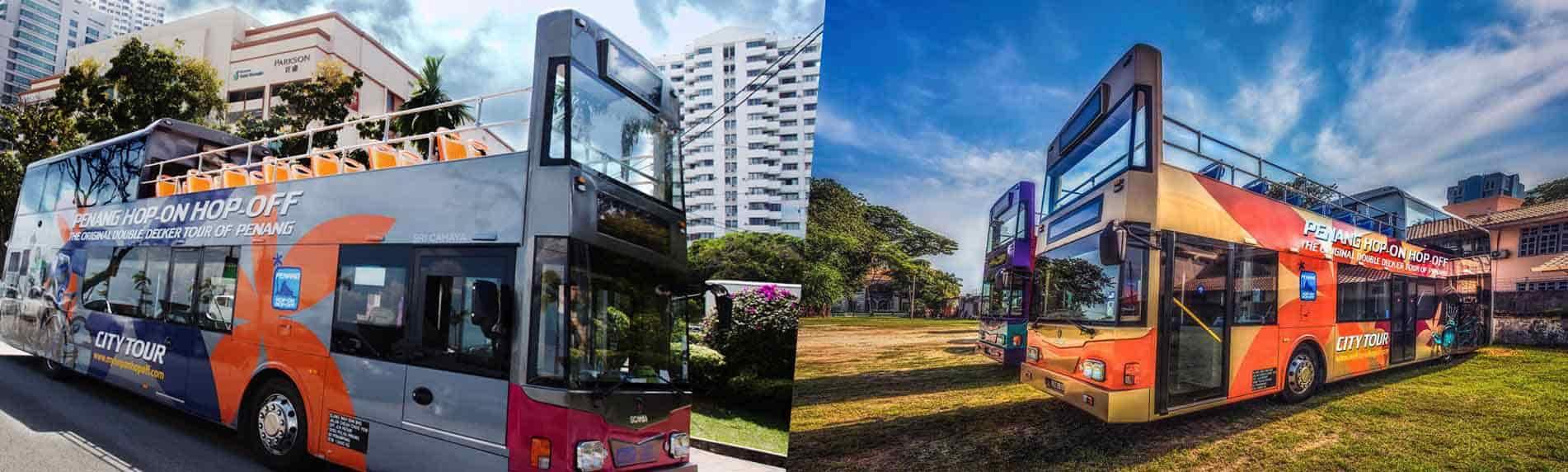 Penang Hop On Hop Off Bus Tour