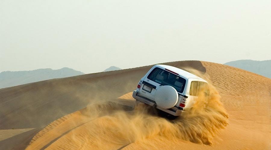 morning dune bashing