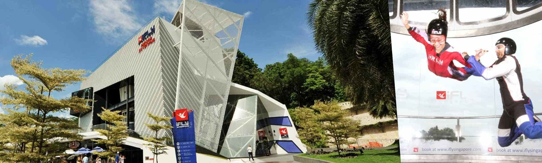 ifly singapore activity