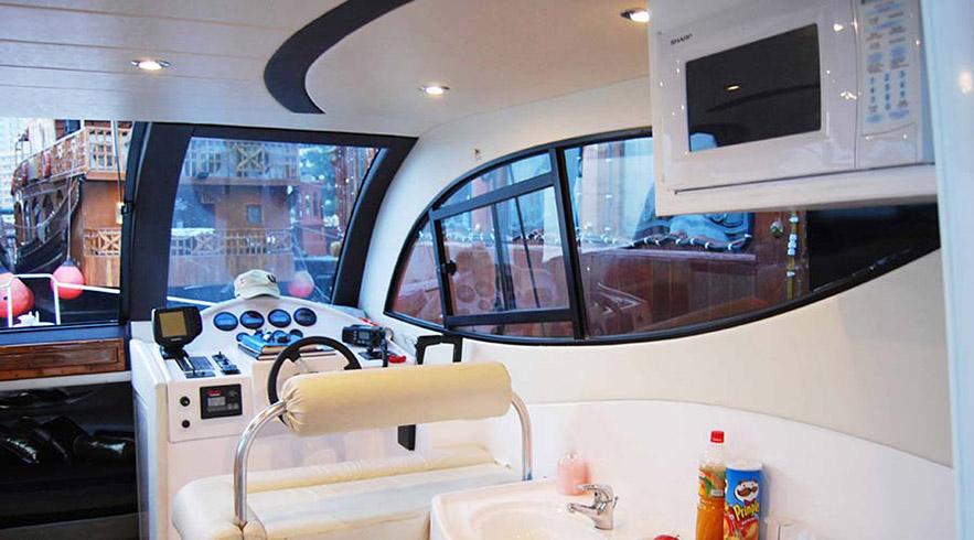 cruise ship inside view