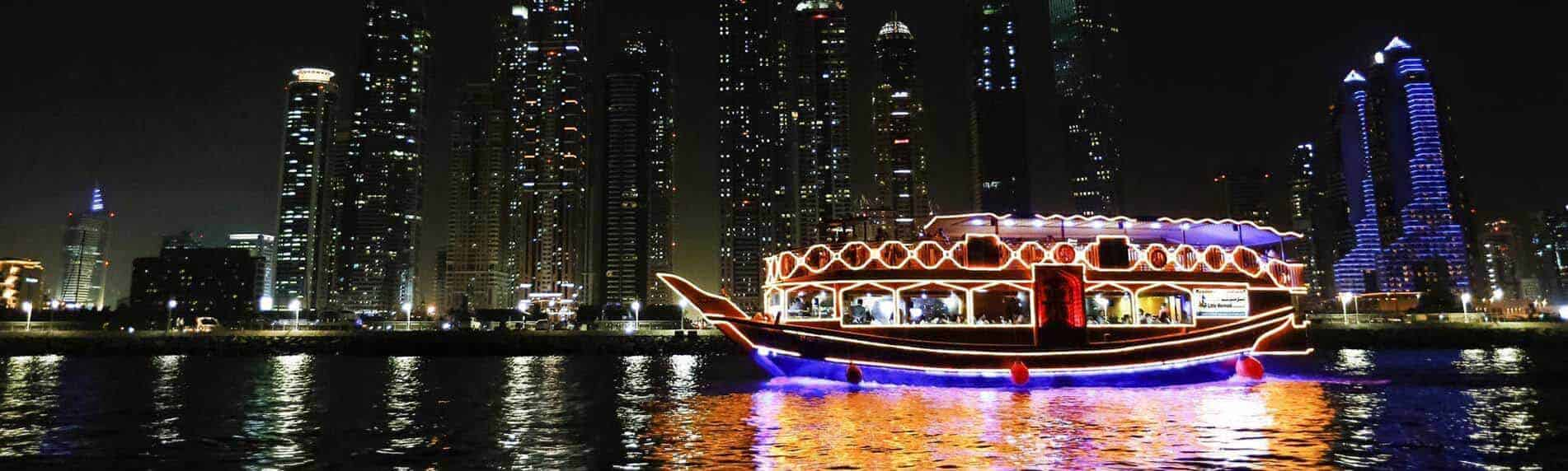 2 Nights New Year Celebration in Dubai with Marina Cruise